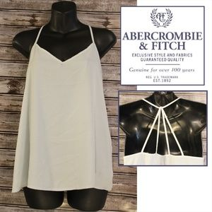 Baby Blue Stappy Back Cami by Abercrombie